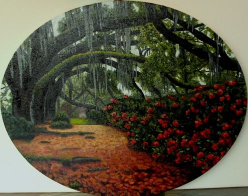 """Alegría y nostalgia"" VENDIDO Técnica: Óleo sobre lienzo Medidas: 50x40 (ovalado)"
