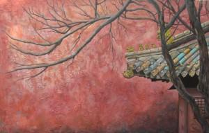 """Aventura en Beijing"" Técnica: Óleo sobre lienzo Medidas: 100x65"