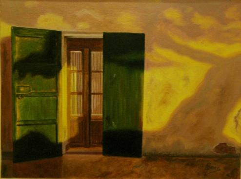 """Sombras del estío"" VENDIDO Técnica: Óleo sobre lienzo Medidas. 61x46"